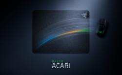 """Razer、""""超低摩擦""""を謳うハードマウスパッド「Razer ACARI」を10月7日(水)に国内発売。ミディアムよりも少し大きめの420 x 320mmサイズ"""