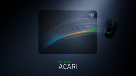 "Razer、""超低摩擦""を謳うハードマウスパッド「Razer ACARI」を発表。ミディアムよりも少し大きめの420 x 320mmサイズ"