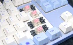 Varmilo、新型キースイッチ「静電容量式メカニカルスイッチV2」4種を発表。キーボードも発売予定