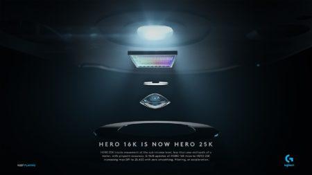 Logitech G、最大25,600DPIに対応する「HERO 25K」センサーを発表。8種類のゲーミングマウスを対象にG HUBアップデートを通して提供