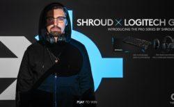 Logitech G、shroudとコラボレーションしたゲーミングデバイス4製品「Shroud Edition」を発表