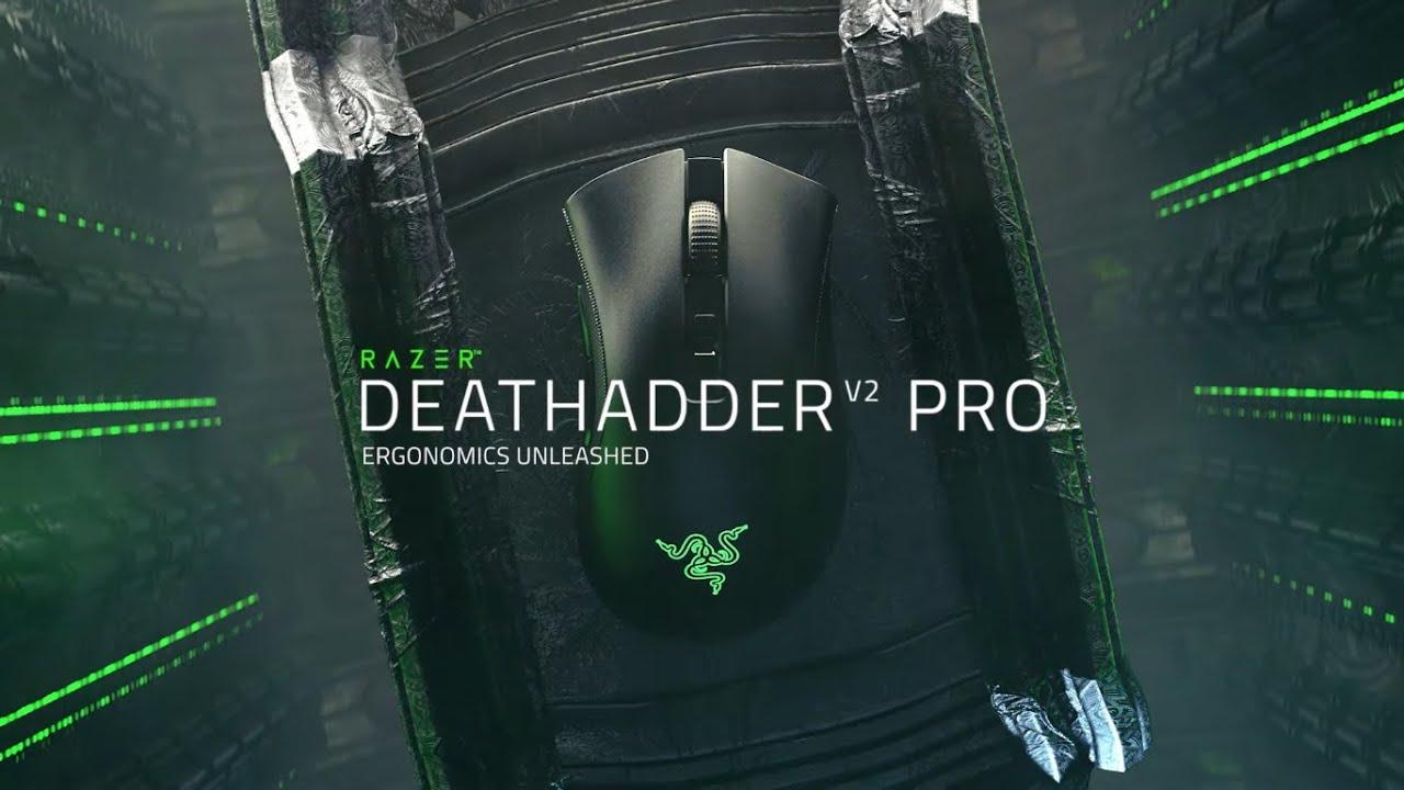 Razer、無線ゲーミングマウス「Razer DeathAdder V2 Pro」を10月7日(水)に国内発売。HyperSpeedワイヤレスとBluetooth接続に対応