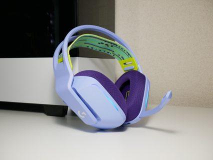 「Logicool G733 LIGHTSPEED」レビュー。独特なカラーリングと軽量設計が魅力の無線ゲーミングヘッドセット