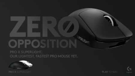 Logicool、本体重量63g以下の無線ゲーミングマウス「Logicool G Pro X Superlight」を発表。G PRO Wirelessの後継機