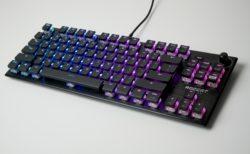 「ROCCAT Vulcan TKL Pro」レビュー。滑らかなキータッチの光学式スイッチを採用したテンキーレスキーボード