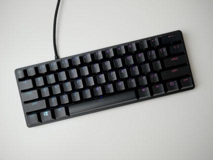 「Razer Huntsman Mini」レビュー。優れた打鍵感の光学式スイッチを搭載する60%キーボード