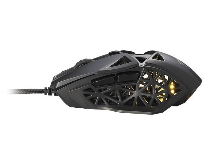 Mad Catz、応答速度0.2msの新開発スイッチを搭載する70gの軽量ゲーミングマウス「M.O.J.O M1」を国内発売