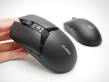 「AJAZZ i309 Pro」レビュー。約4000円と安価なGPWLクローン形状のワイヤレスマウス