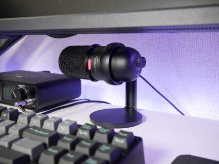「HyperX SoloCast」レビュー。コンパクトで設置場所を選ばないUSBコンデンサーマイク