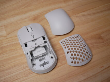 「Pwnage Ultra Custom Wireless Symm」レビュー。カスタマイズ要素を盛り込んだS2クローン形状のワイヤレスマウス
