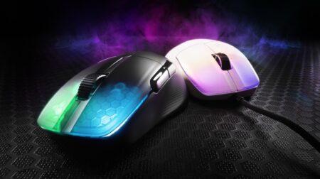 ROCCAT、中サイズで66gの左右非対称ゲーミングマウス「KONE Pro」と無線モデル「KONE Pro Air」を発表