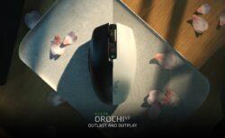 Razer、2.4GHzワイヤレスとBluetooth両対応の無線ゲーミングマウス「Orochi V2」を発表