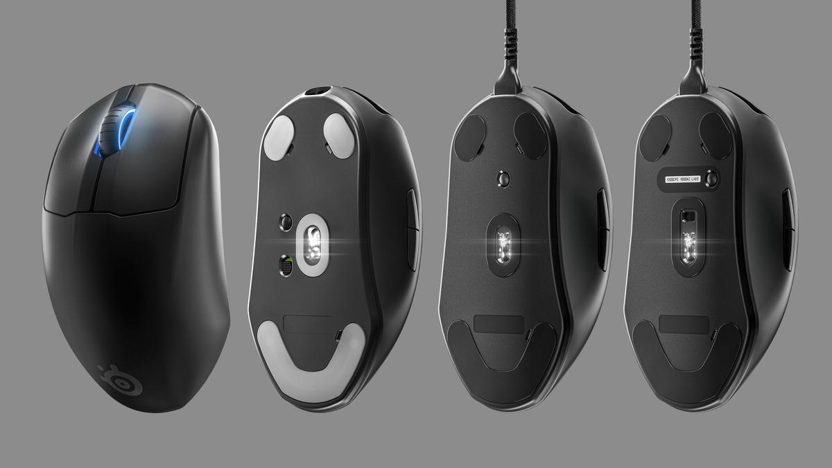 SteelSeries、軽量ゲーミングマウス「Prime」「Prime+」「Prime Wireless」を発表