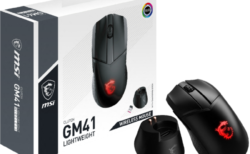 MSI、わずか74gでPixArt PAW3370センサーを搭載した無線ゲーミングマウス「CLUTCH GM41 LIGHTWEIGHT WIRELESS」を5月21日に発売